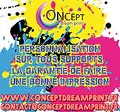pub de CONCEPT DREAM PRINT (NOUVEAU)