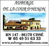 pub AUBERGE DE LA COUR D'HÉNON
