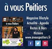 pub de A VOUS POITIERS (Bimestriel gratuit)