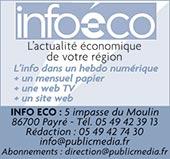 pub INFO ECO (Hebdomadaire économique payant)