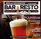 pub de LA CAVE A BIERE-LA MOUSTACHE
